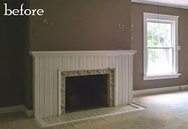 epic shabby chic brick fireplace 23 on small home remodel ideas