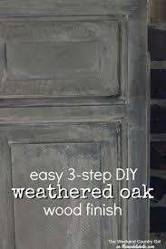Grey Oak Furniture Remodelaholic How To Achieve A Restoration Hardware Weathered