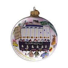 bloomingdale s storefront ball collectible ornament michael