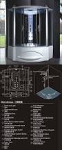 hs sr062 1 55m length black acrylic enclosed steam showers and hs sr062 1 55m length black acrylic enclosed steam showers and baths
