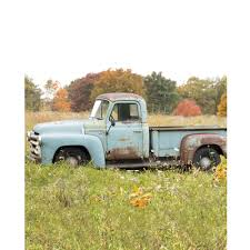Vintage Ford Truck Fabric - vintage truck scenic printed backdrop backdrop express