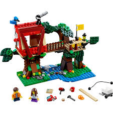 lego lego creator treehouse adventures building set 31053