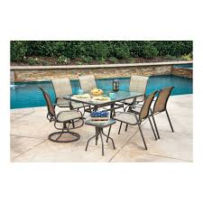 Outdoor Patio Furniture Castlecreek Outdoor Patio Furniture Dining Set U2014 8 Pc Includes