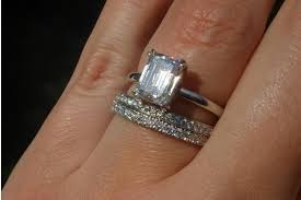 emerald cut solitaire engagement rings show me your emerald solitaire or w tapered baguettes