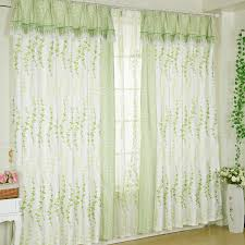 Window Curtains Design Ideas Charming Green Floral Curtain Designs For Windows Ideas Surripui Net