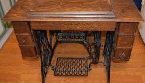 Antique Singer Sewing Machine And Cabinet A Surprise Singer 401a Grow Your Own Clothes