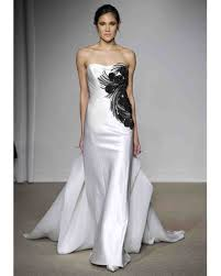 black and white wedding dresses wedding dresses with black wedding ideas