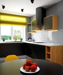 modern yellow kitchen 2 bright homes with energetic yellow accents
