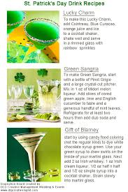 st patrick u0027s day drink recipes drinks spirits and happy hour