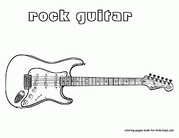 large guitar coloring page guitar coloring page with wallpapers free download