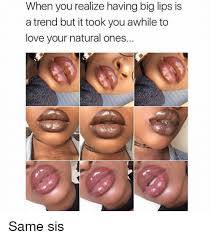 Big Lips Meme - 25 best memes about big lips big lips memes