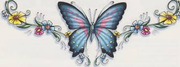 lower back butterfly tattoos tatoos