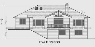 house plans with daylight basements cool design house plans with daylight basement one story plans