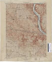 Wisconsin Topographic Map by