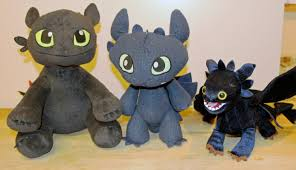 toothless train dragon 2 plush dragons