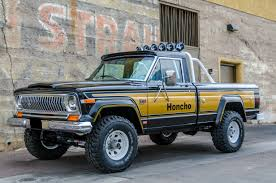 jeep gladiator lifted 1977 american j10 jeep honcho levi