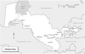Aral Sea Map Maps Of Uzbekistan