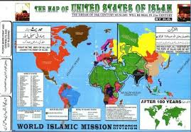 Islam World Map by Predictable History Unpredictable Past Tony Blair Right On Not
