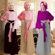 Baju Muslim Dewasa Ukuran Kecil 50 model baju gamis untuk wanita langsing dan kurus dengan trend