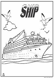ship coloring pirate ship schooner wave coloring