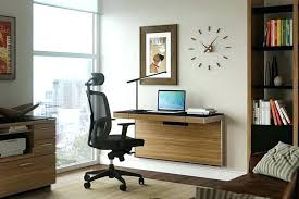 Wall Mounted Office Desk Wall Mount Desk View In Gallery Minimal Floating Desk Wall Mounted