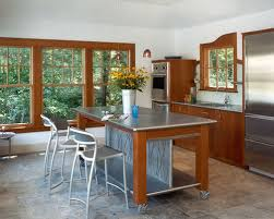 stainless steel kitchen island houzz