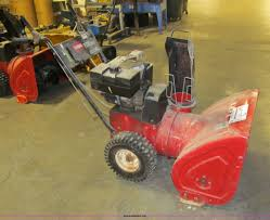 toro 824xl self propelled snow blower item a8484 sold t