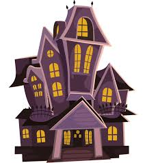 halloween background 600x600 scary halloween house clipart collection