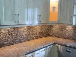 Tumbled Slate Backsplash by Kitchen Backsplashes Brown Natural Stone Mosaic Backsplash