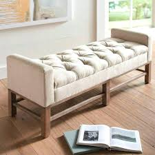 fancy padded bench for bedroom u2013 soundvine co
