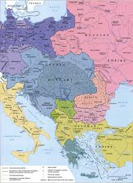 Map Central Europe by Maps