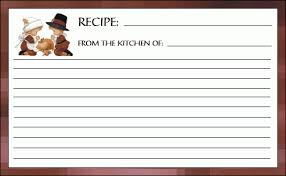 printable thanksgiving blessings recipe card belly bytes