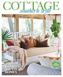 cottage style magazine southern cottage style 2017 southern home magazine