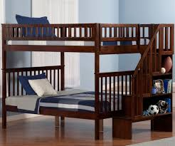 Full Over Full Futon Bunk Bed by Solid Wood Full Over Full Bunk Beds Space Saving Full Size Bunk