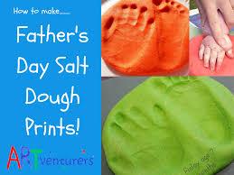 easy salt dough prints for father u0027s day artventurers
