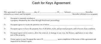 cash for keys after a foreclosure sale or auction law office of