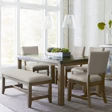 sleek stainless steel dining tables dining room rectangle cream