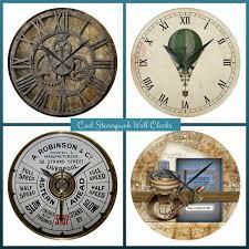Home Decor Clocks Steampunk Clocks For Home Decor