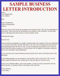 business letter sample business letter introduction otzjopst the