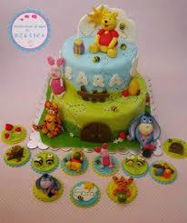 winnie the pooh cake topper winnie the pooh cake cupcake topper birthday cakes