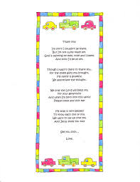 baby shower thank you poems from baby boy zone romande decoration