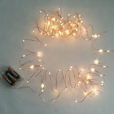 copper wire lights battery copper wire led string lights battery operated holiday wedding party