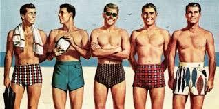 mens beach fashion 1950s men39s swimwear vintage fashion mens 1950s 195039sh 1950s mens