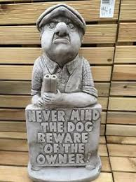 never mind the garden statue ornament fibreglass