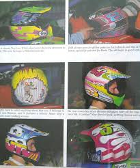vintage motocross helmet 80 u0027s u0026 90 u0027s custom painted helmets of the stars moto related