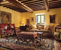 Tuscan Dining Room Ideas by Tuscan Decorating Living Room With Wall Arts And Elegant Area Rug