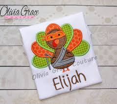boys thanksgiving shirt turkey boy embroidered applique