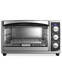 Toaster Oven With Toaster Black And Decker To1675b Convection Countertop Oven Electrics