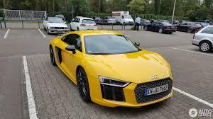 Audi R8 Yellow - audi r8 v10 plus 2015 9 november 2016 autogespot
