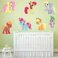Bedroom Wall Decals Uk My Little Pony Girls Boys Kids Bedroom Vinyl Decal Wall Art